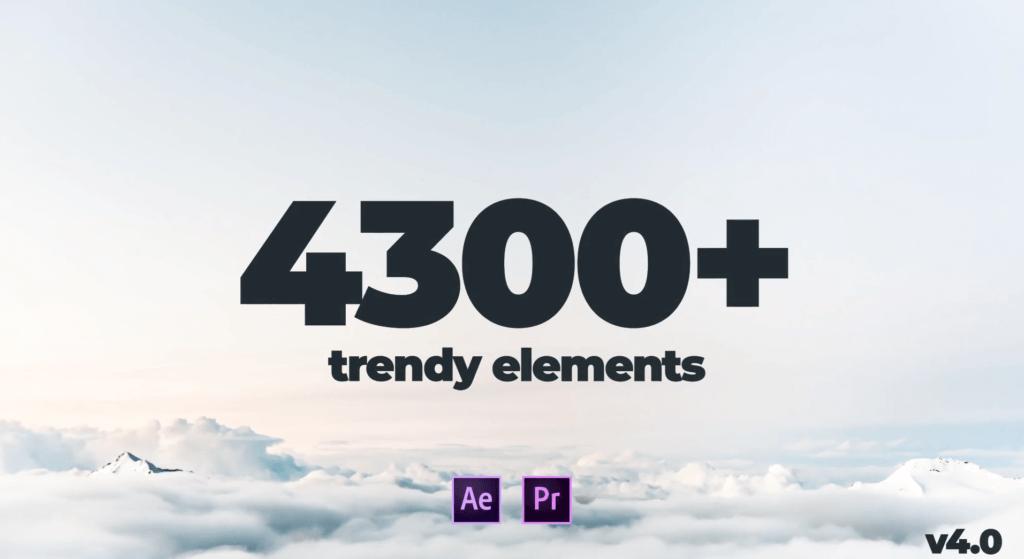 Trendy Graphics Pack v4