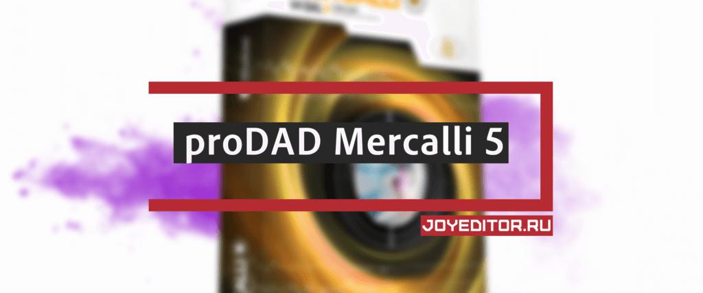 proDAD Mercalli 5