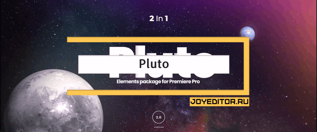 Pluto - Transitions and Titles