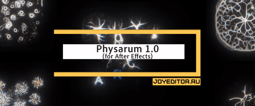 Physarum 1.0 (for After Effects)