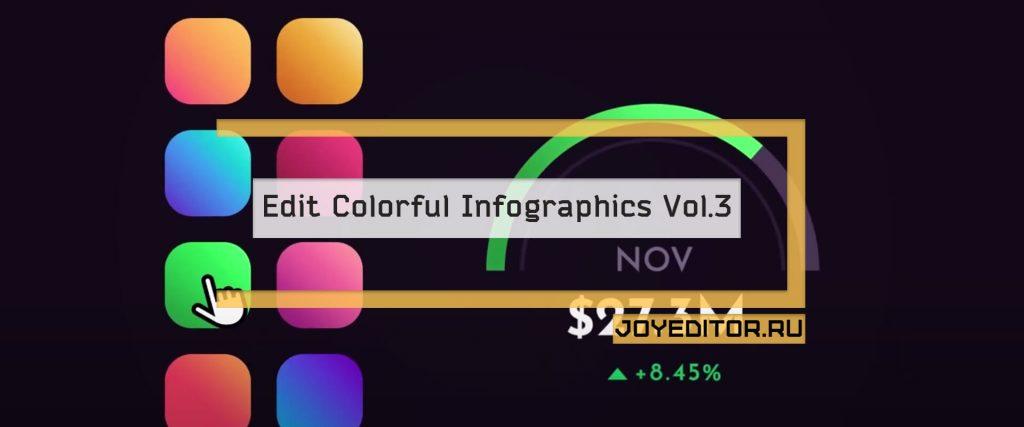 Edit Colorful Infographics Vol.3